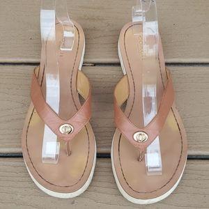 Coach Shelly Flip Flop Sandals -8.5